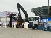 De grandes sociétés de construction attendues à Contech Vietnam 2018