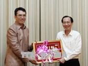 Une délégation du ministère laotien des Sciences et des Technologies en visite à HCM-Ville