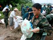 Les localités du Vietnam se préparent à l'arrivée du typhon Bebinca