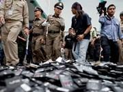 La Thaïlande interdira les importations de déchets dangereux