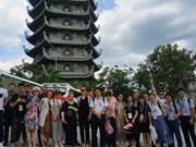 Echange entre jeunes et étudiants vietnamiens et chinois à Da Nang