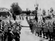 Projection des films en l'honneur du 73e anniversaire de la Révolution d'août et de la fête national