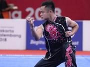 ASIAD 2018: le wushu apporte au Vietnam une médaille d'argent et une de bronze