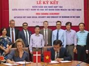 Vietnam-Danemark : un mémorandum de coopération dans l'assurance sociale