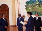 Madagascar souhaite promouvoir l'amitié traditionnelle avec le Vietnam
