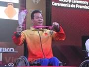 Jeux para-asiatiques 2018: le handisport vietnamien reçoit un premier soutien financier