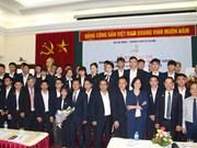 Départ des Vietnamiens pour le 12e concours de qualification professionnelle de l'ASEAN