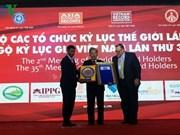Le Vietnam décroche quatre autres records du monde