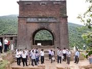 Des vestiges archéologiques découverts à la porte de Hai Van