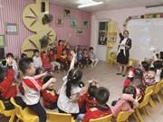 Garantir le droit de tous les enfants d'aller à la maternelle