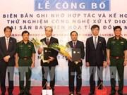 La technologie de traitement de la dioxine sera testée à l'aéroport de Bien Hoa
