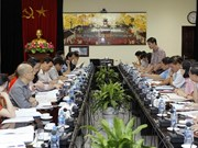 Réunion du comité d'organisation du Forum économique mondial sur l'ASEAN