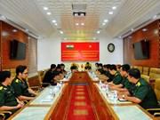 La délégation des jeunes officiers indiens à Ho Chi Minh-Ville