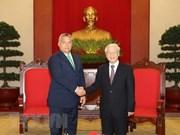 La visite du leader du PCV en Hongrie promeut les relations bilatérales