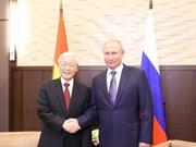 Déclaration commune sur les résultats de la visite officielle en Russie du leader du PCV