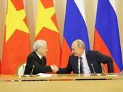 Vietnam et Russie signent de nombreux documents de coopération