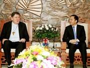 Le chef du Comité des affaires religieuses du gouvernement reçoit une délégation du Vatican