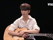 Le prodige de la guitare sud-coréen Sungha Jung se produira au Vietnam