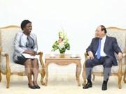Le Premier ministre reçoit la vice-présidente de la BM pour l'Asie de l'Est et le Pacifique