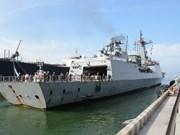 Un destroyer de la Marine sud-coréenne visite Da Nang