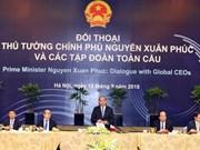 WEF ASEAN 2018 : le Premier ministre dialogue avec des groupes multinationaux