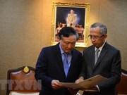 Vietnam et Thaïlande encouragent la coopération judiciaire