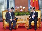 De grands groups prêts à soutenir le Vietnam dans le développement de l'économie numérique