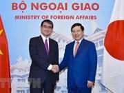 Le Vietnam et le Japon discutent des mesures visant à renforcer les relations bilatérales