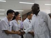 Une délégation cubaine se rend à l'hôpital d'amitié Vietnam-Cuba Dong Hoi