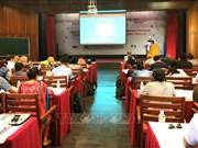 Début de la classe de physique des hautes énergies Europe - Asie - Pacifique à Quy Nhon