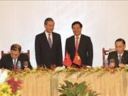 Le Comité de polotage de la coopération bilatérale Vietnam-Chine se réunit