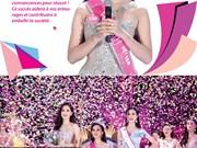 [Infographie] Trân Tiêu Vy sacrée Miss Vietnam 2018