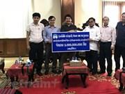 Hoang Anh Gia Lai continue d'aider les Laotiens après l'effondrement du barrage de Xepian-Xe Namnoy