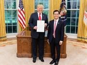 Le président américain apprécie le développement du Partenariat intégral Vietnam-États-Unis