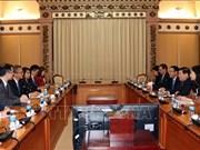 Stimuler la coopération entre Ho Chi Minh-Ville et Hong Kong (Chine)