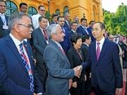 Les derniers jours de travail du président Tran Dai Quang