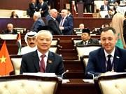 Renforcement des relations parlementaires avec l'Azerbaïdjan
