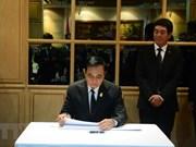 Décès du président Tran Dai Quang: Visite de condoléances du PM thaïlandais