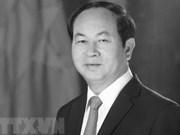 Décès du président Trân Dai Quang : condoléances au Vietnam