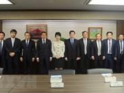 Le chef de la Commission centrale des affaires intérieures du PCV en visite au Japon