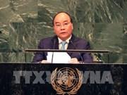 Le PM affirme le soutien du Vietnam au rôle central de l'ONU