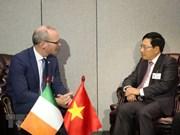 Rencontre entre Pham Binh Minh et ses homologues en marge de la 73e session de l'AG de l'ONU