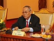 Décès du premier vice-président du Sénat du Cambodge Nay Pena
