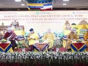 Échange culturel bouddhiste Vietnam-Russie-Inde à Moscou