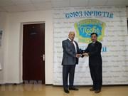 L'Ordre de l'Etat de droit et de la justice à l'ambassadeur du Vietnam en Ukraine