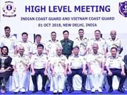 Un navire de la Garde-côte du Vietnam en visite en Inde