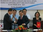Sécurité et hygiène au travail: renforcement de la coopération entre la R. de Corée et le Vietnam