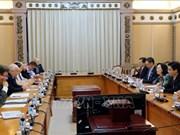 HCM-Ville et le Royaume-Uni renforcent la coopération entre des organes élus par le peuple