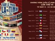 La 6e Semaine du film latino-américain s'ouvrira à Hanoi