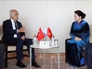 La présidente de l'AN rencontre le président du Conseil turc des Relations économiques extérieures
